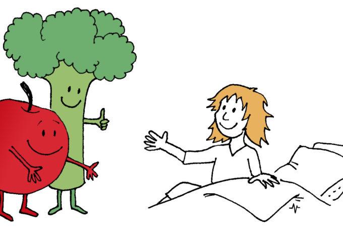 zelenina pomáhá